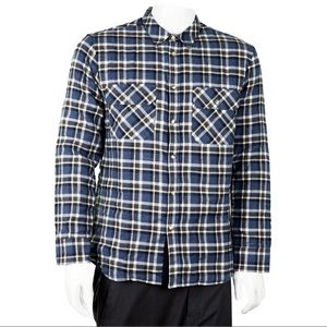 PAUL & JOE Checkered Button Up Shirt with Lining
